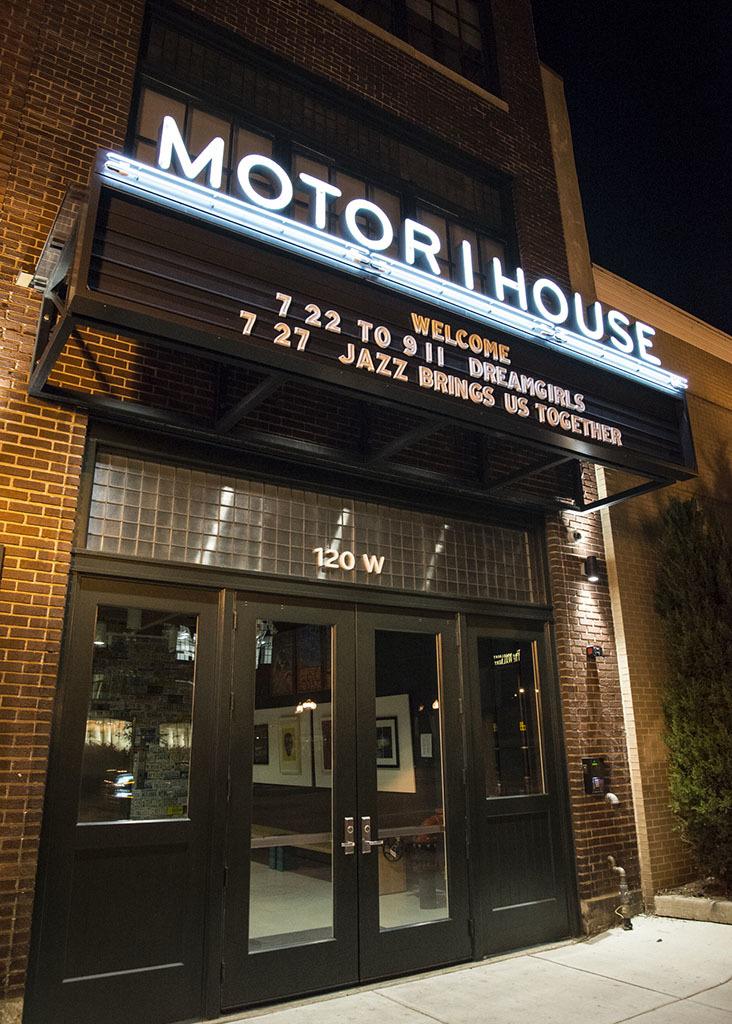 Entrance, Motor House