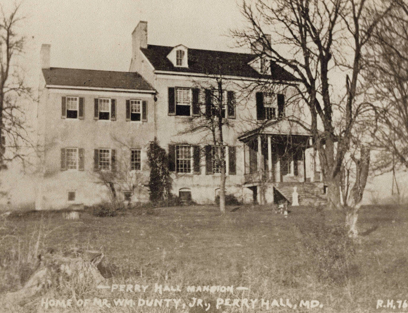Perry Hall Mansion (c.1900)