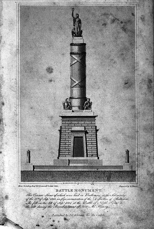 Design for Battle Monument (1815)