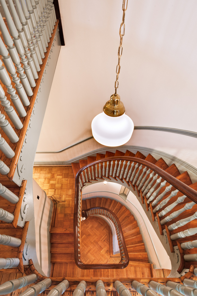 Stairs, Lillie Mae Carroll Jackson Museum (2012)