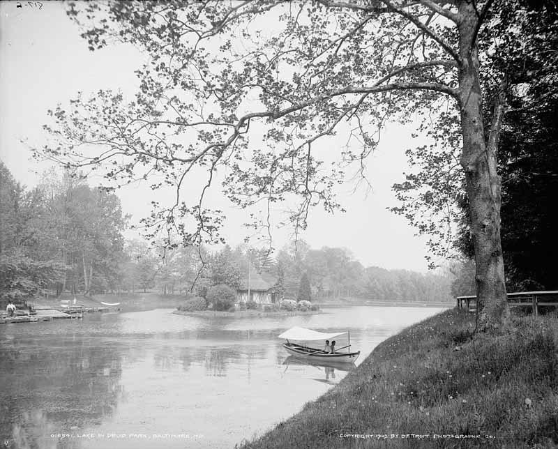 Druid Hill Lake (c. 1903)