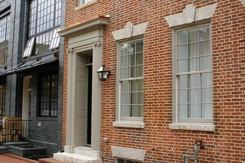 Entrance, 1729 Aliceanna Street (2012)