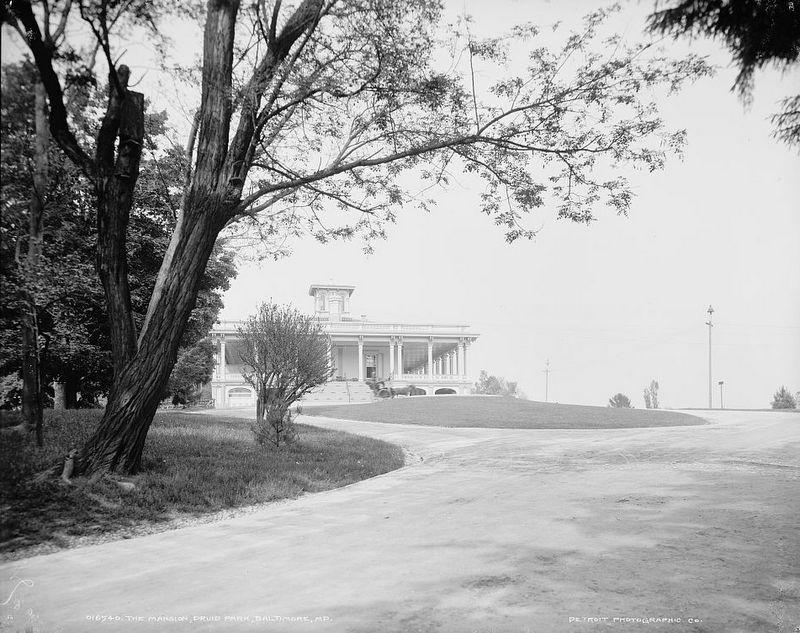 Druid Hill Mansion (c.1900)