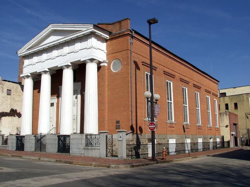 Lloyd Street Synagogue, before restoration (c. 2009)