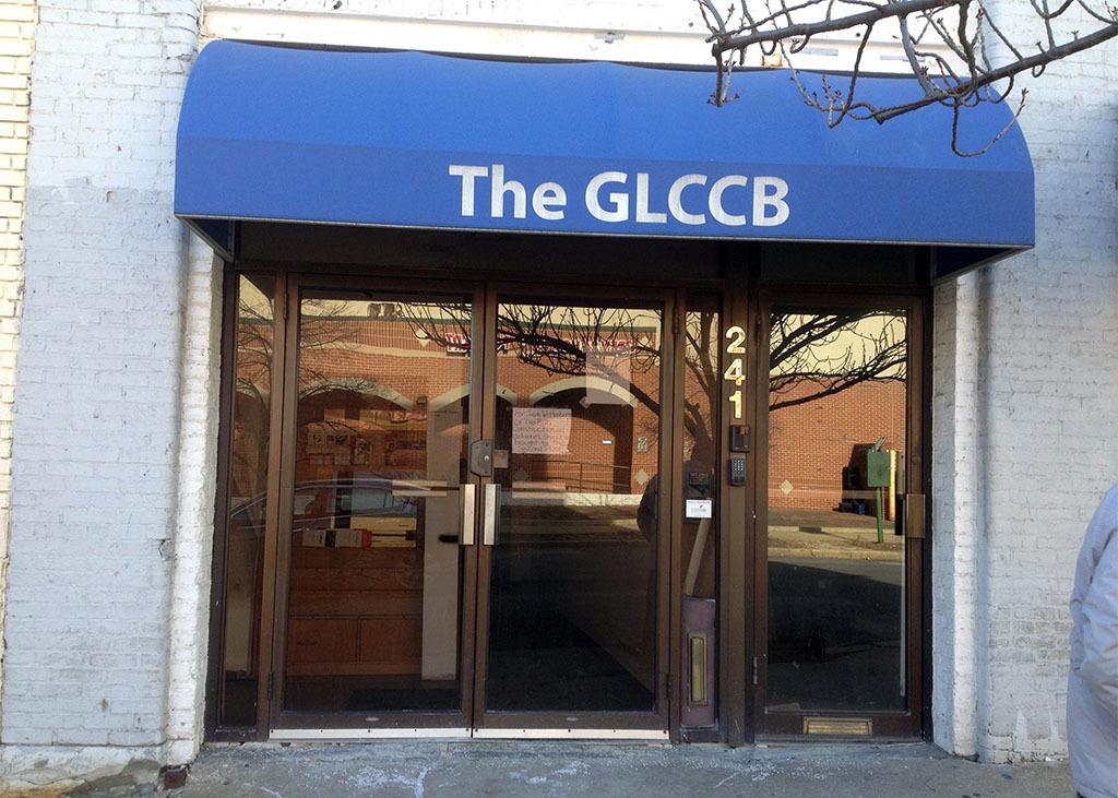 Entrance, The GLCCB