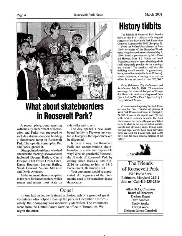 FRP Newsletter (March 2001)