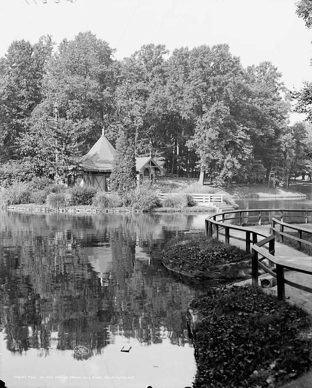 Druid Hill Park Island House (c. 1906)