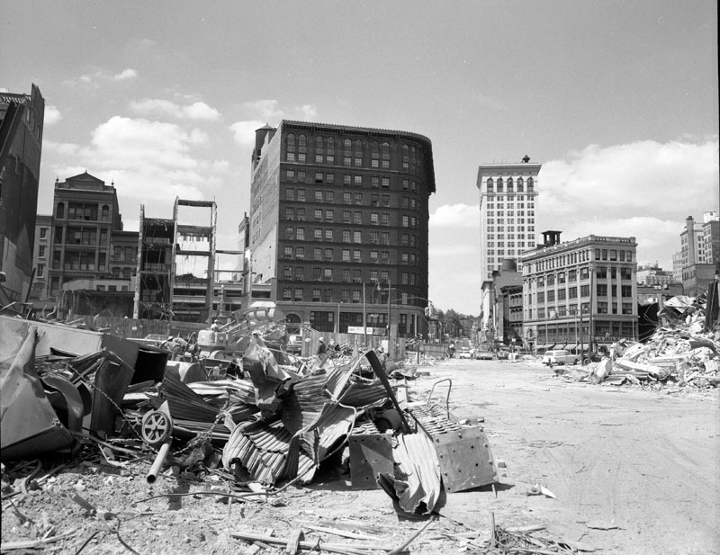 Baltimore Street at Liberty Street (1960)