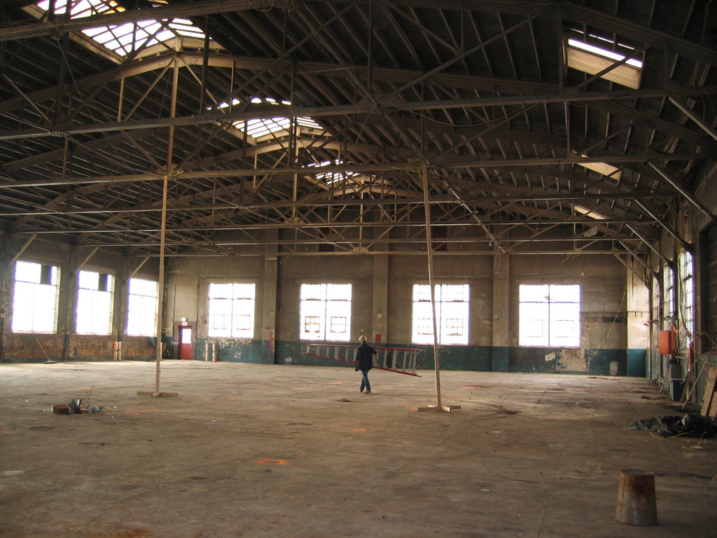 Interior, National Brewery Building (2004)