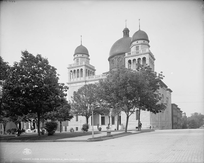 Temple Oheb Shalom (c. 1903)