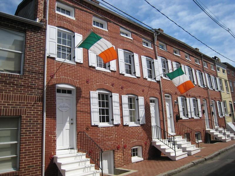 Lemmon Street Alley Houses
