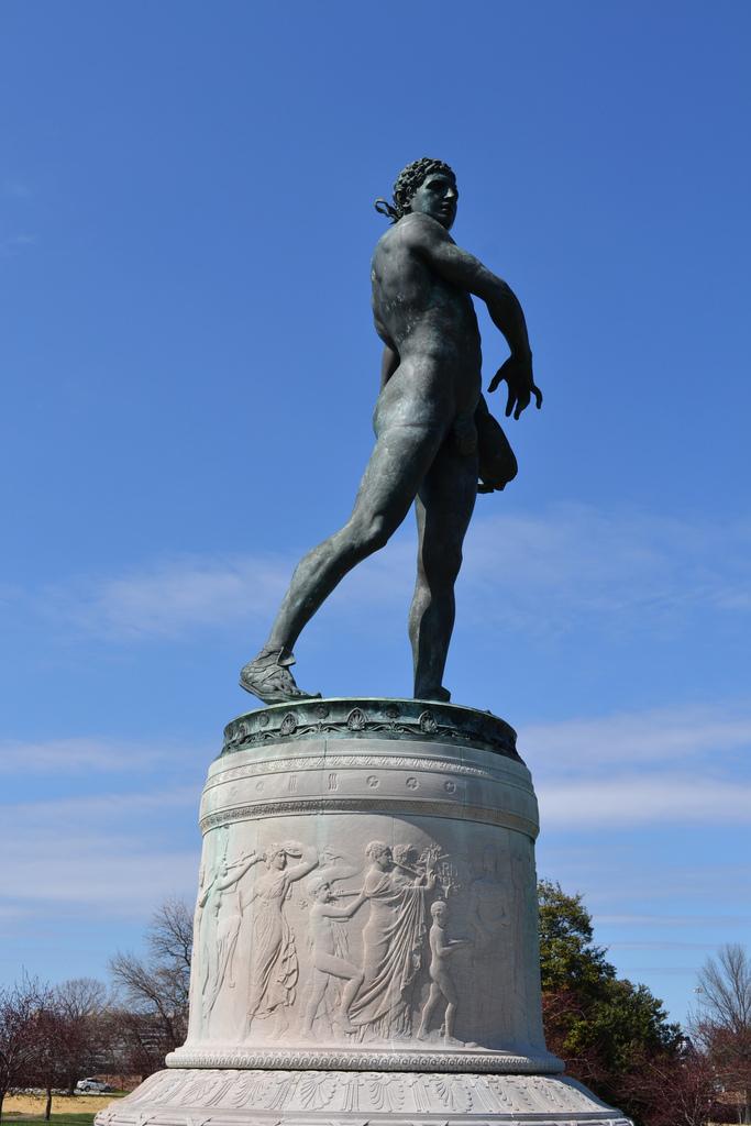 Orpheus Statue
