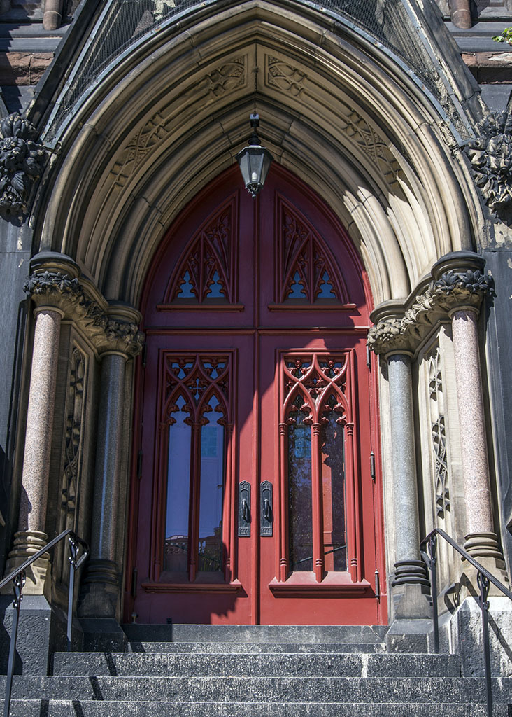 Entrance, Mt. Vernon Place United Methodist Church