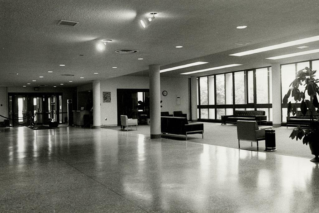 UMBC Library Lobby