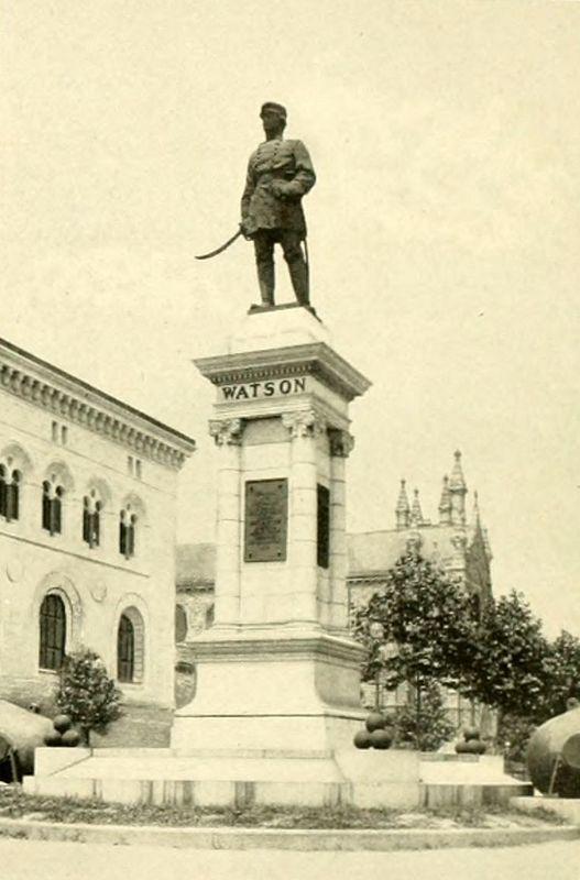 Watson Monument (c. 1906)