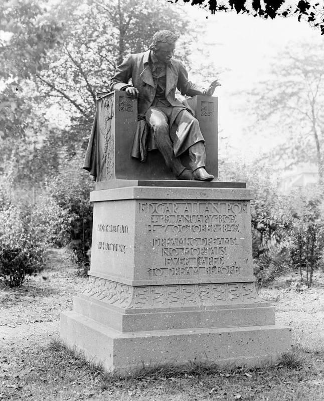 Edgar Allan Poe Monument, Wyman Park