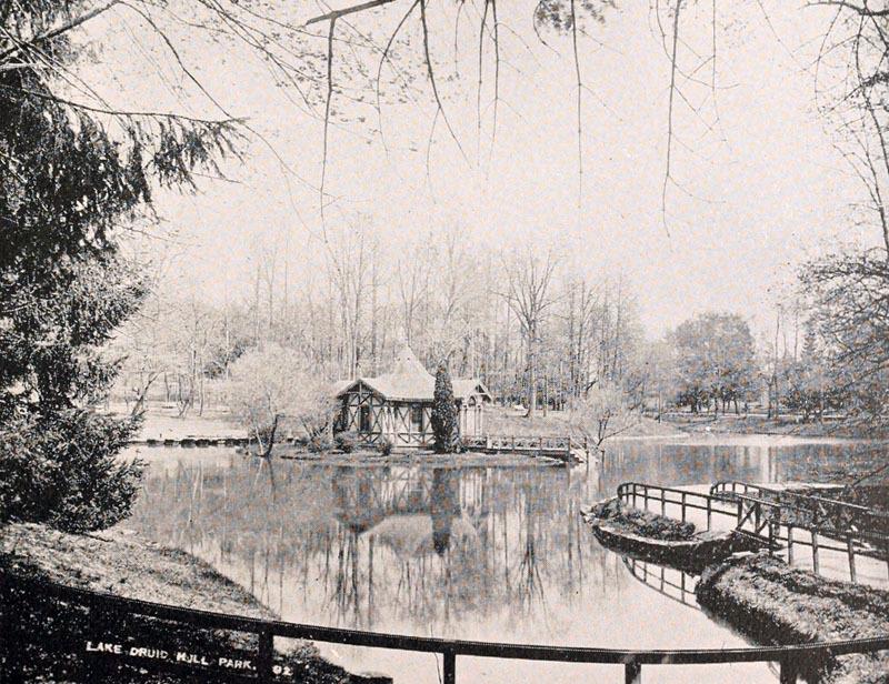 Druid Hill Park Boat Lake (c. 1880)
