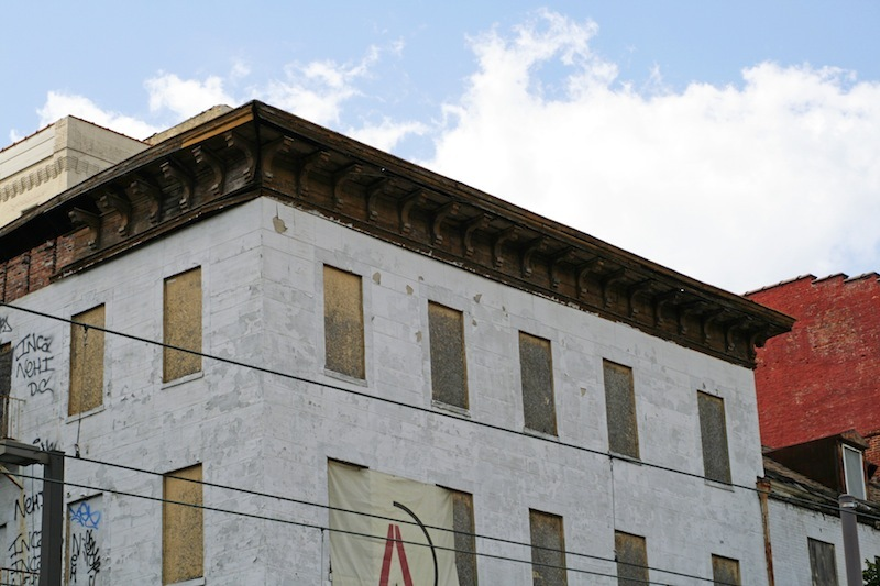 Cornice Detail, New Academy Hotel (2012)