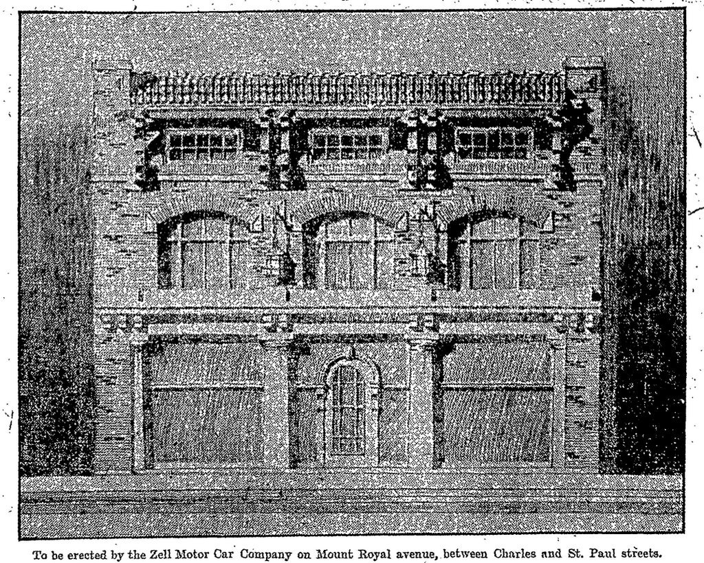 Zell Motor Car Company Showroom (1908)
