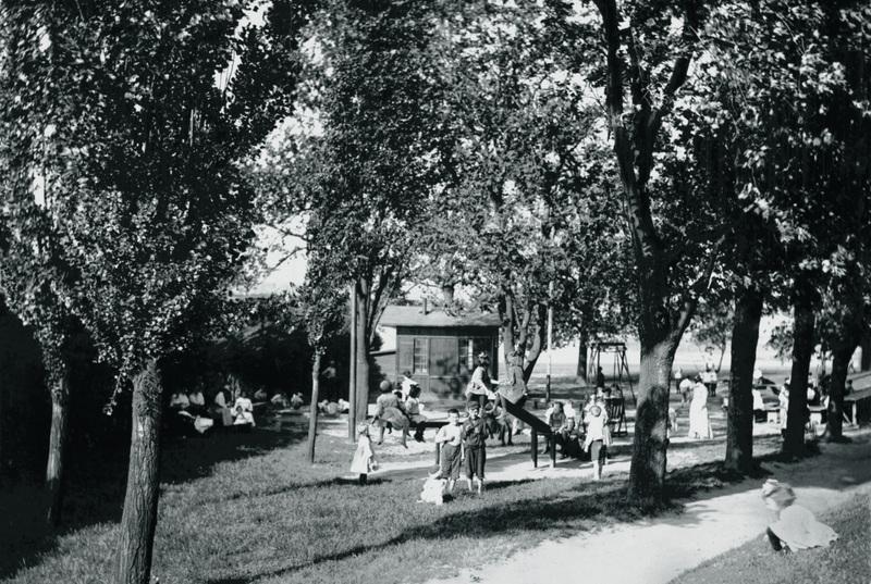 Carroll Park Playground (c. 1900)