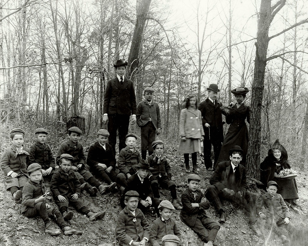 Group portrait, Manual Labor School
