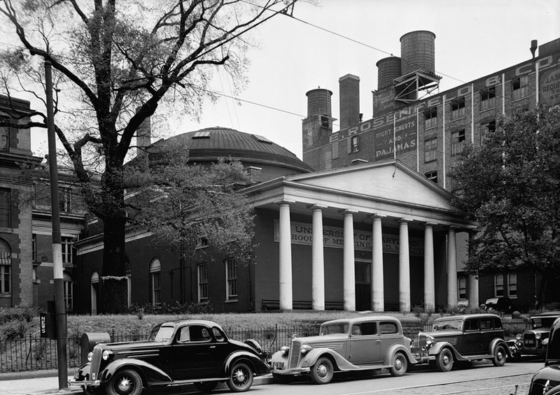 University of Maryland, Medical Building (July 1936)