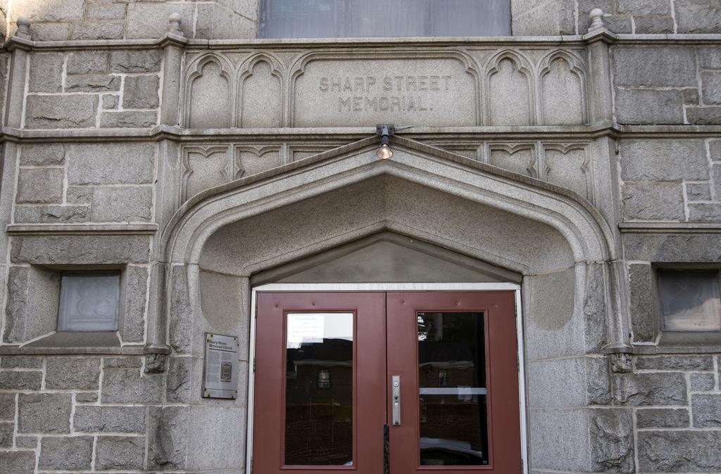 Entrance, Sharp Street Memorial United Methodist Church