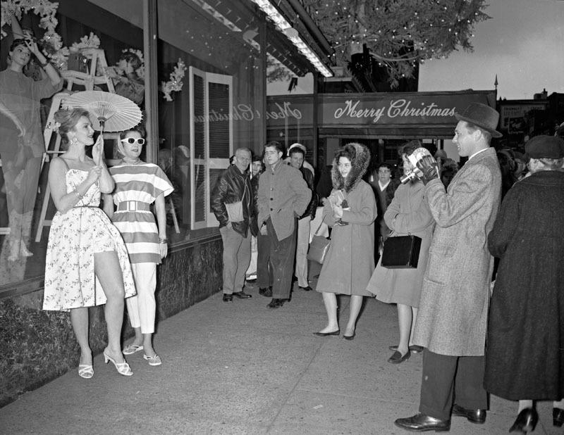 Models at Stewart's (1960)