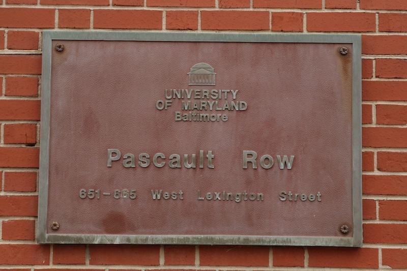 Plaque, Pascault Row (2012)