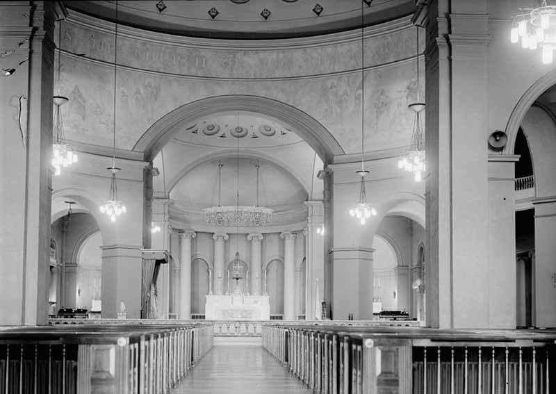 Interior, Basilica of the Assumption (1958)