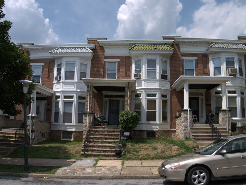Rowhouses, 2500 block of Harlem Avenue (2010)