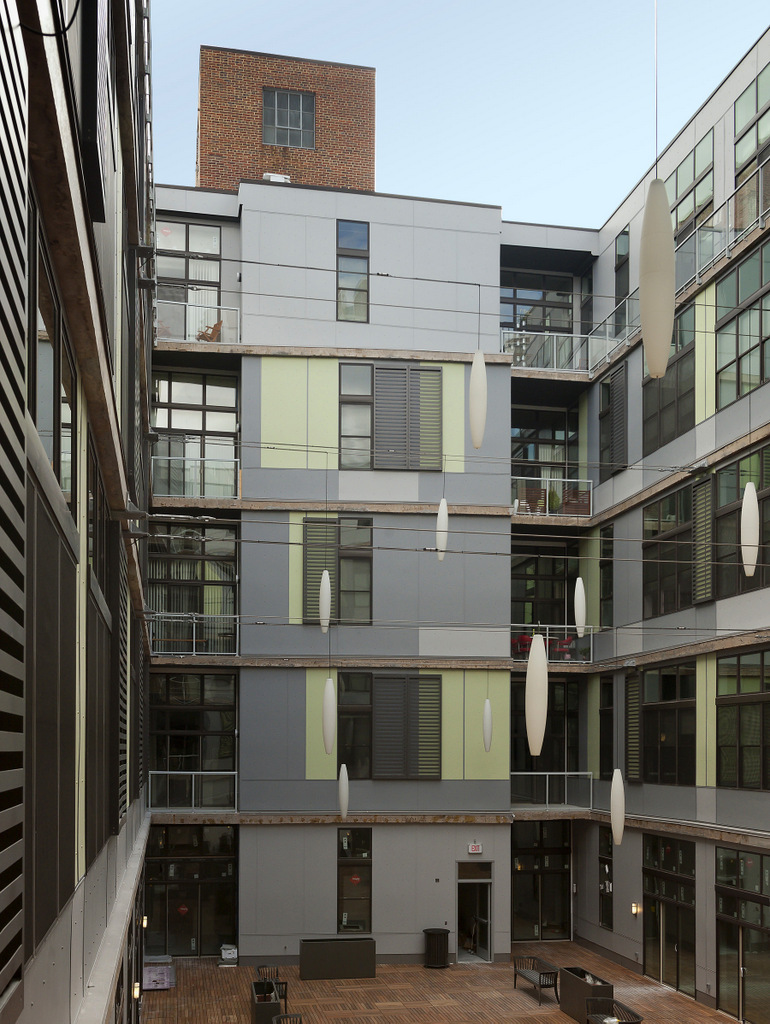 Courtyard, 520 Park (2014)