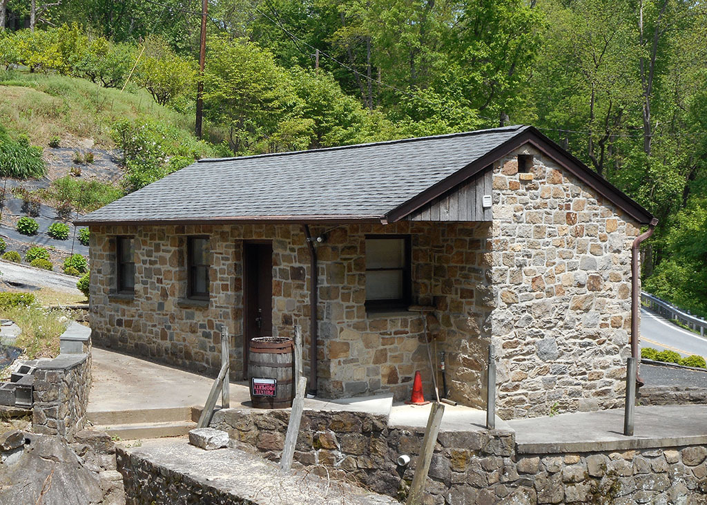 Former Springhouse, Gunpowder Copper Works