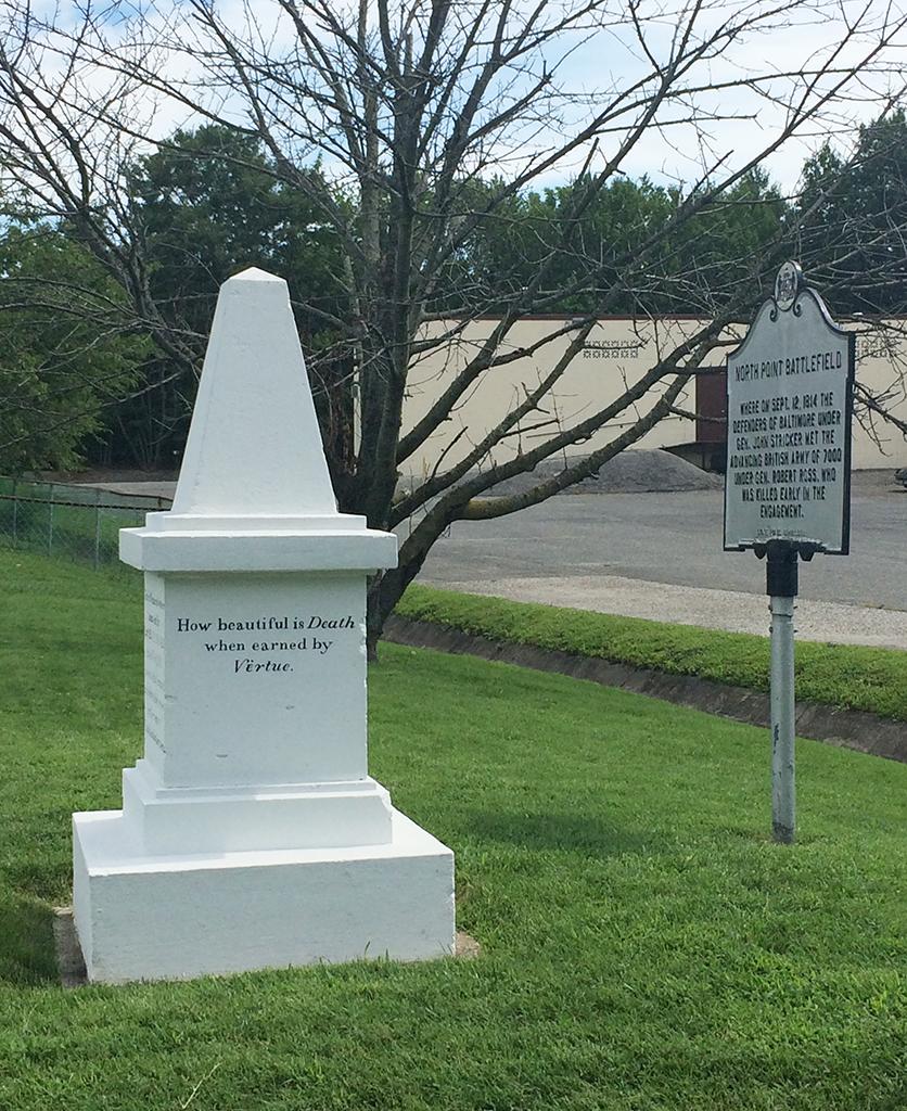 Aquila Randall Monument