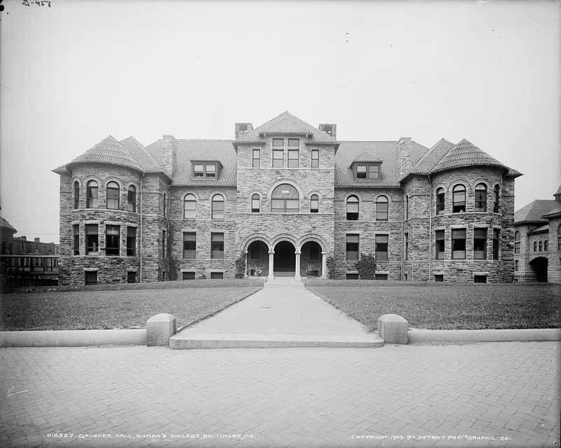 Goucher Hall (c.1903)