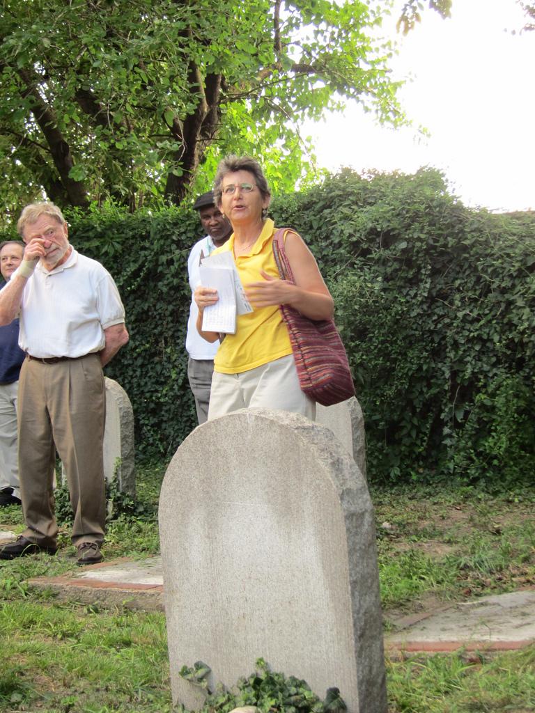 Deb Weiner, Etting Cemetery (2011)