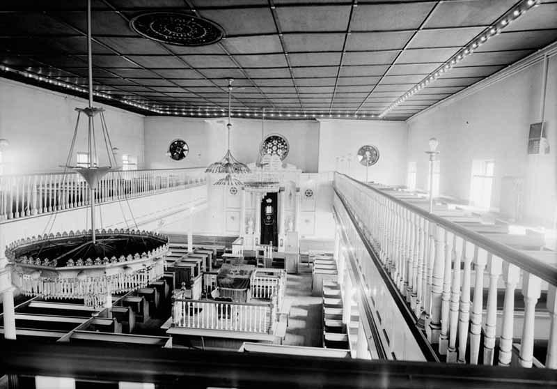 Lloyd Street Synagogue Interior (1958)