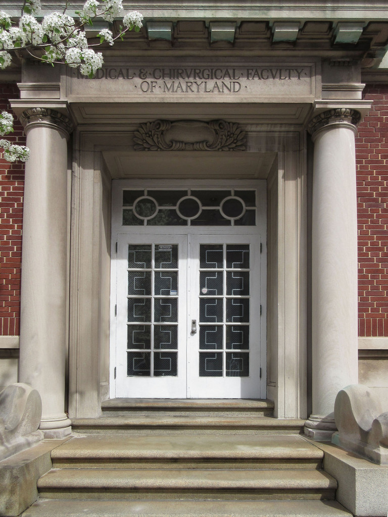 Entrance, Maryland State Medical Society (MedChi) Building