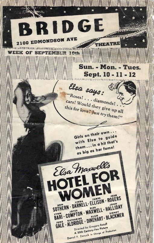 Theater poster, The Bridge (1939)