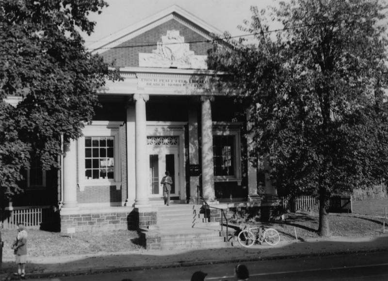 Enoch Pratt Hampden Branch (c. 1950)