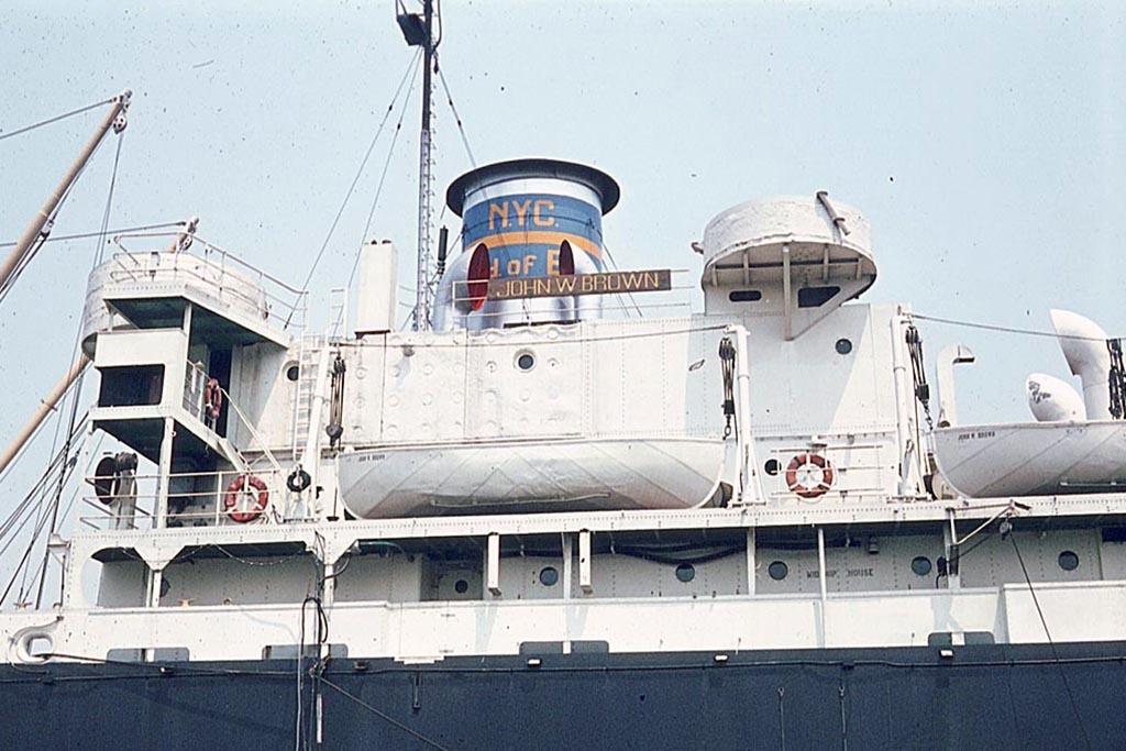 Deck, SS John W. Brown