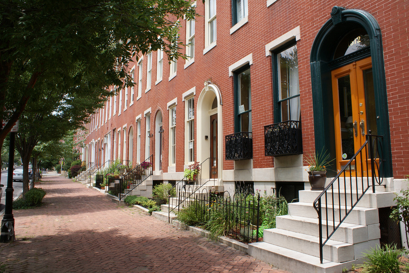 1500 block of Hollins Street (2011)