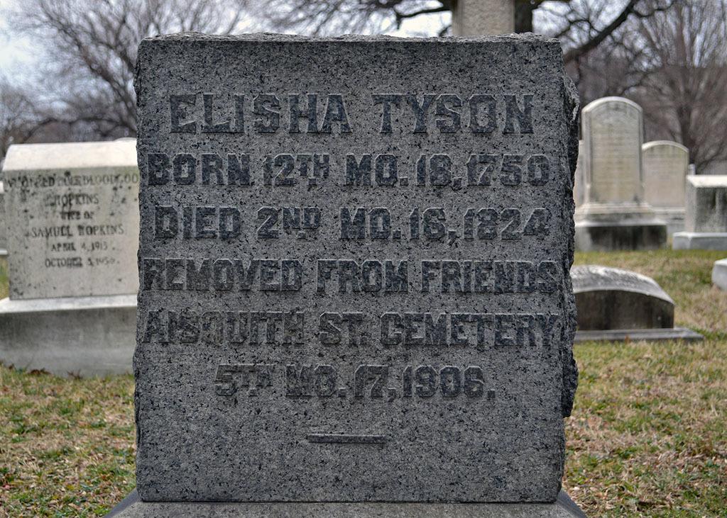 Elisha Tyson's Grave