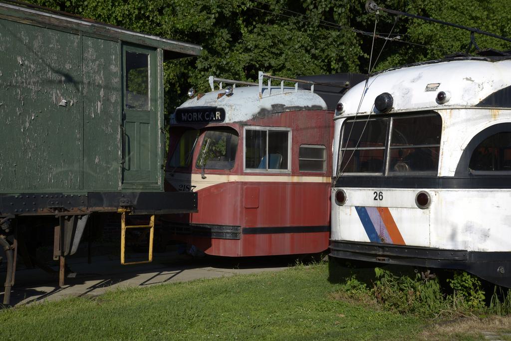 Streetcars, Baltimore Streetcar Museum (2015)