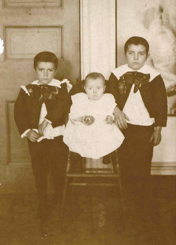 Dunty family children (c.1900)