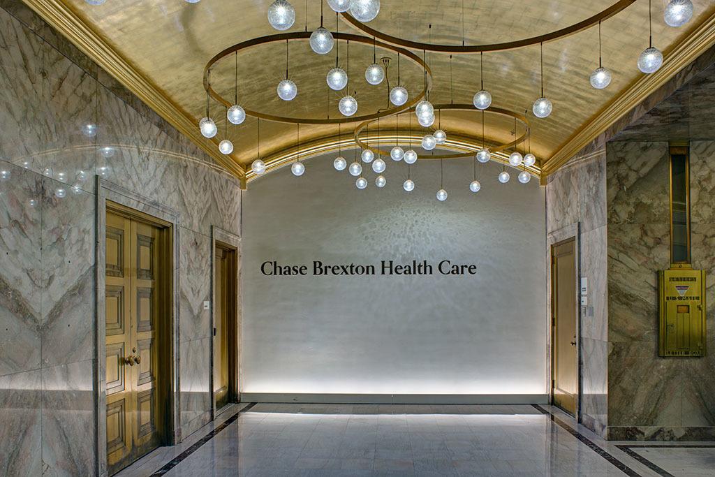 Lobby, Chase Brexton Health Center