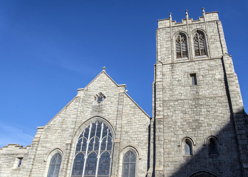 Steeple, Sharp Street Memorial United Methodist Church