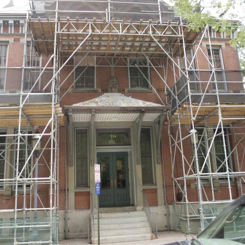 Entrance, Pine Street Police Station (2012)