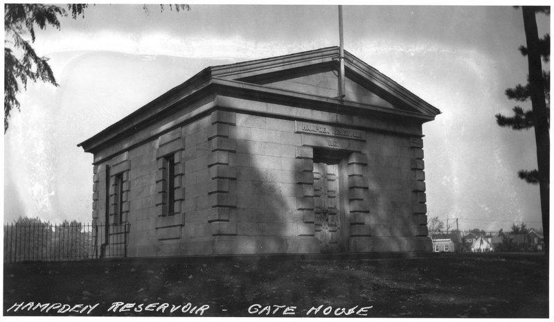 Hampden Reservoir Pump House (c. 1900)