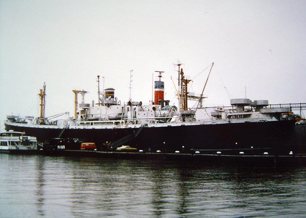 SS John W. Brown, Hudson River